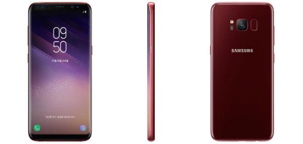 El Samsung Galaxy S8 en color rojo ya es oficial
