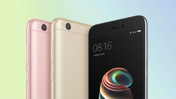 Xiaomi Redmi 5A diseño
