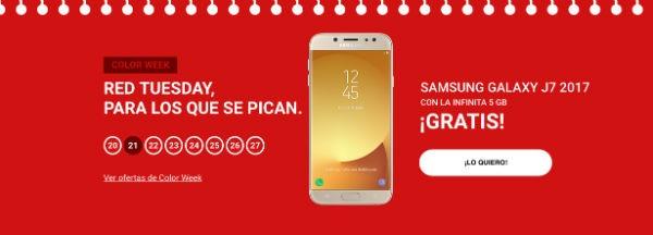 Yoigo se une al Black Friday con ofertas en móviles Samsung o Huawei