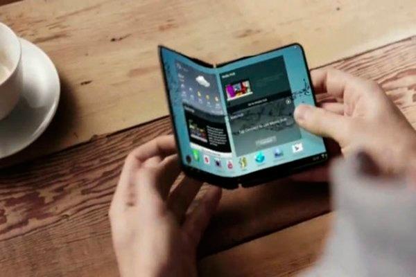 El móvil plegable de Samusng podría presentarse mientras 2018