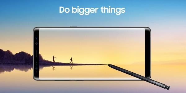 Samsung Galaxy™ Note ocho características