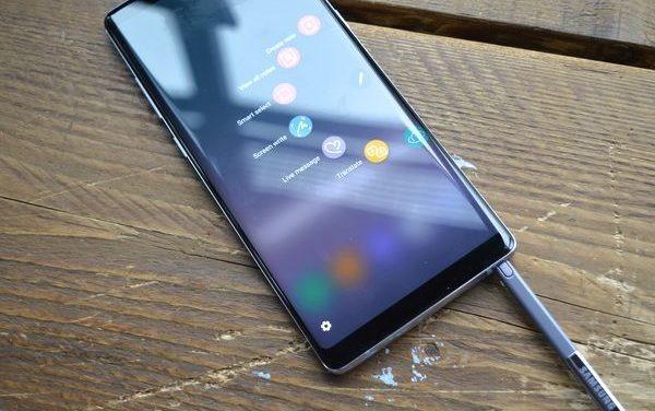 Se lanza la beta oficial de Android 9 Pie para el Samsung Galaxy Note 8