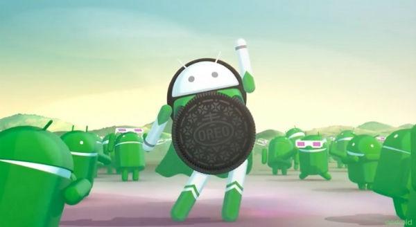 Android ocho en celulares LG