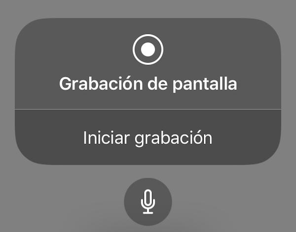 Cómo activar la grabación de pantalla en iPhone