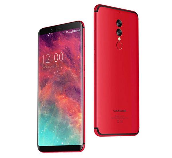 5 móviles chinos por menos de 300 euros Umidigi frontal
