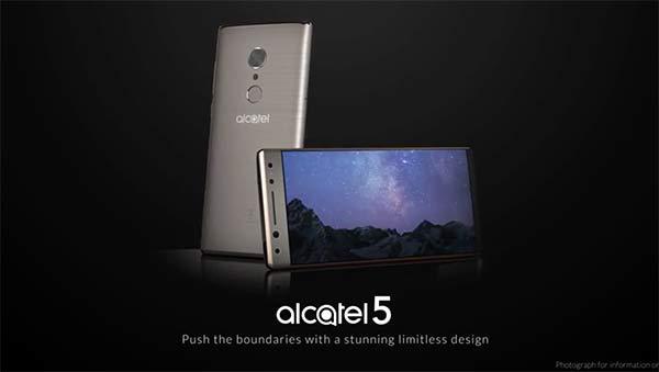 Alcatel 5, el próximo teléfono de Alcatel™ desvelado al detalle