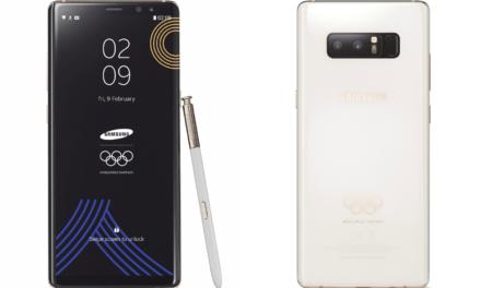 Samsung lanza una edición limitada del Galaxy Note 8 para los Juegos Olímpicos