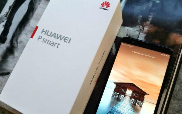 Huawei P Smart, nuevo móvil con pantalla infinita y doble cámara