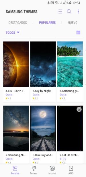 S8 Themes Samsung