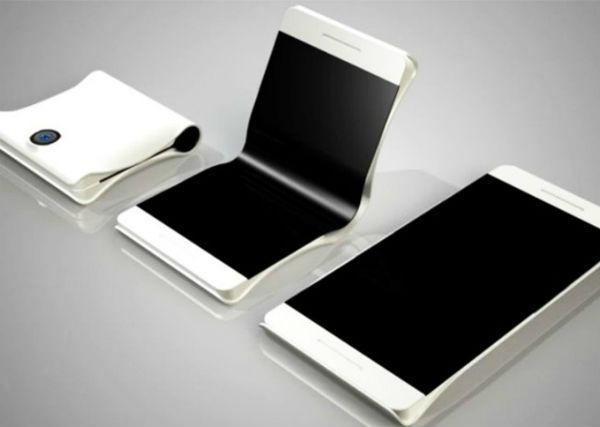 Samsung teléfono plegable