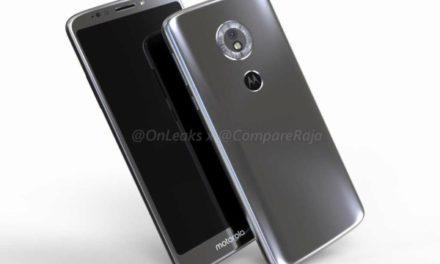 Aparece filtrado el primer vídeo del Motorola Moto G6
