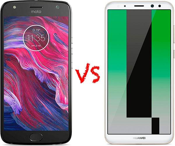 Comparativa Motorola™ Moto™ X4 vs Huawei™ Mate diez Lite