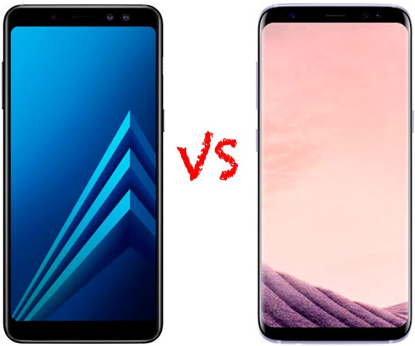 Comparativa Samsung Galaxy A8 2018 vs Samsung Galaxy S8