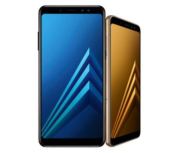 Comparativa Samsung Galaxy A8 2018 vs Samsung Galaxy S8 parte pantalla A8