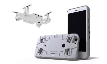 Selfly, el dron para selfies que se convierte en funda de móvil