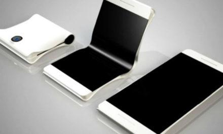Así podría ser el diseño del móvil plegable de Samsung