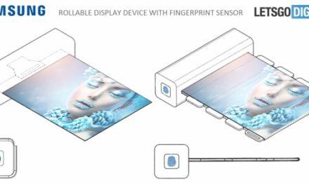 Samsung ya trabaja en su primer móvil con pantalla enrollable