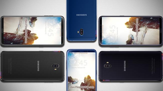 Galaxy C10 diseño
