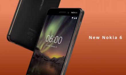 Nokia 6, nuevo móvil de gama media muy resistente