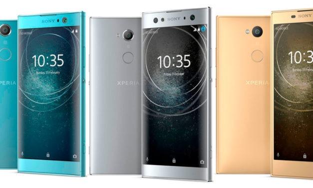 Sony Xperia XA2, Xperia XA2 Ultra y Xperia L2 a la venta en España