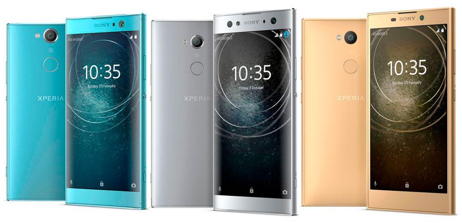 Sony Xperia™ XA2, Xperia™ XA2 Ultra y Xperia™ L2 a la venta en España