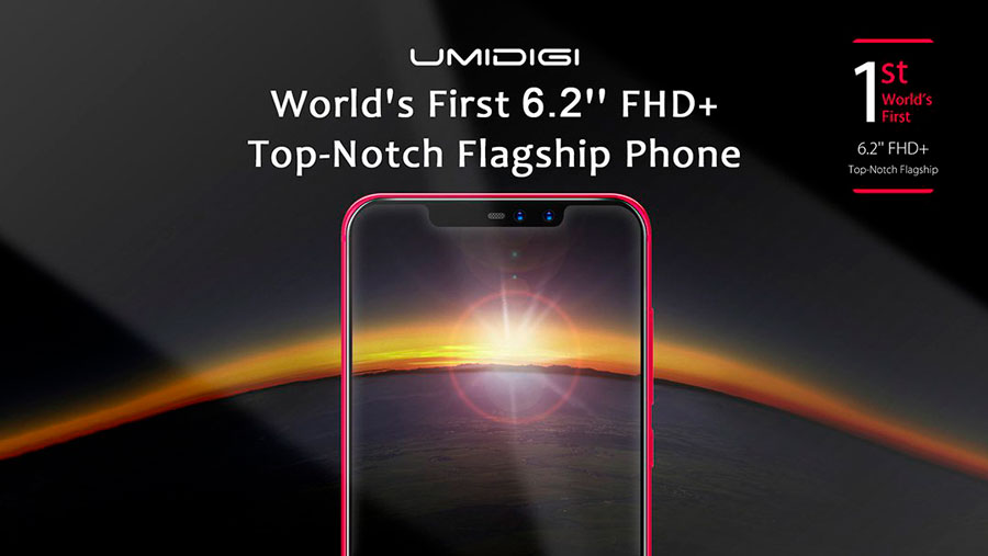 confirmado UMIDIGI Z2 tendrá diseño iPhone X cartel