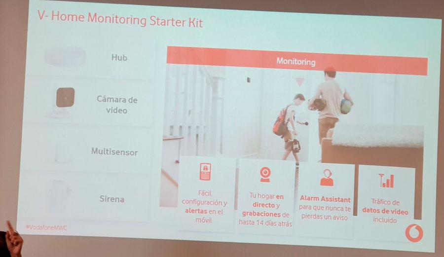 presentación V-Home by Vodafone Starter Kit