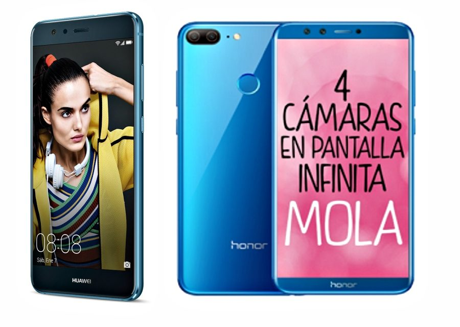 Comparativa Huawei P10 Lite vs Honor 9 Lite