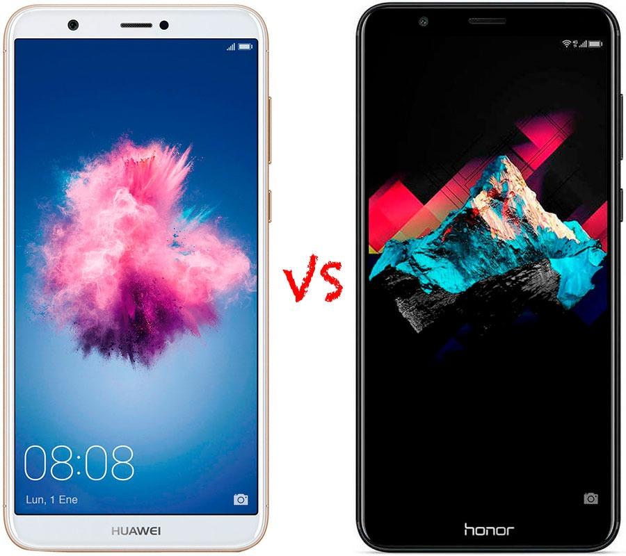 Comparativa Huawei P Smart vs Honor 7X