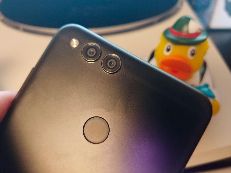 comparativa Huawei P Smart vs Honor 7X cámaras Honor 7X