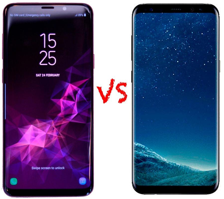 Comparativa samsung galaxy s9 y s8 vs galaxy