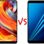 Comparativa Xiaomi Mi MIX 2 vs Samsung Galaxy A8 2018