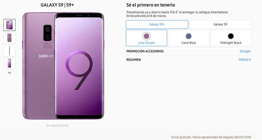 dónde reservar y comprar el Samsung™ Galaxy™ S9 samsung