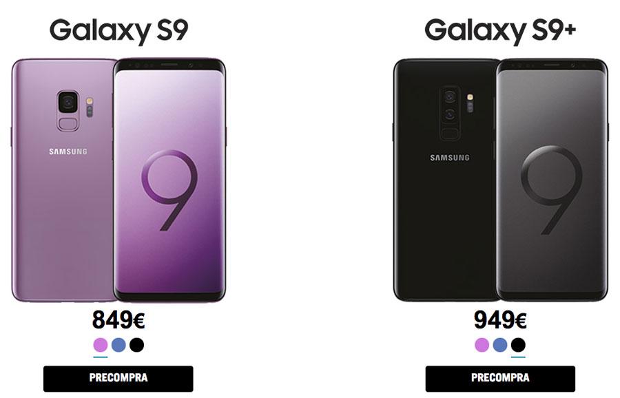 D nde reservar y comprar el samsung galaxy s9 y s9 for Distribuidores samsung