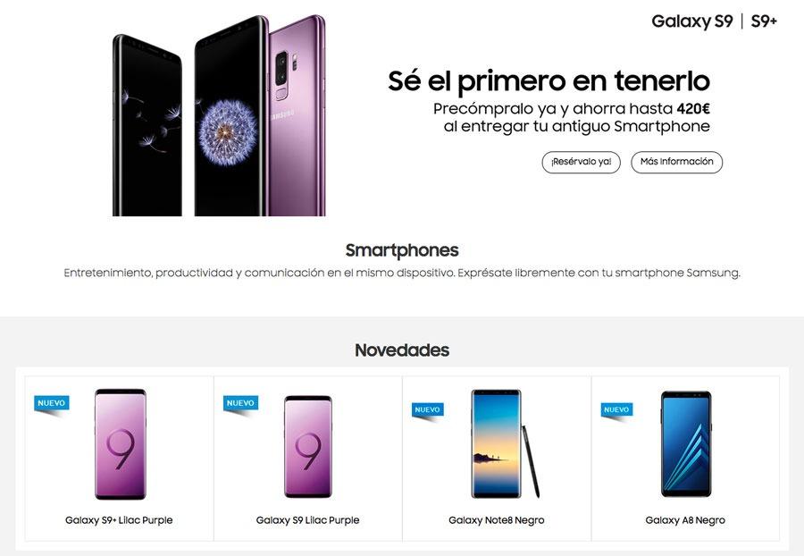 dónde reservar y comprar el Samsung Galaxy S9 Fnac