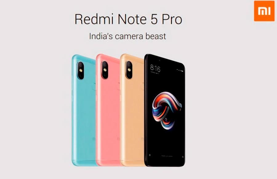 Se filtran las especificaciones del Xiaomi Redmi Note 5 y Redmi Note 5 Pro