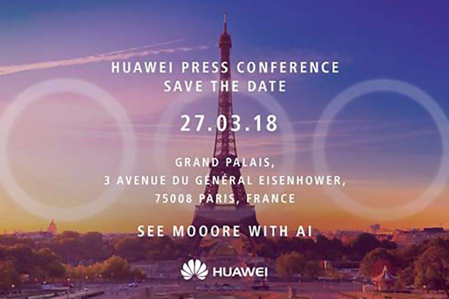 La imagen que muestra la triple cámara principal del Huawei P20 Plus