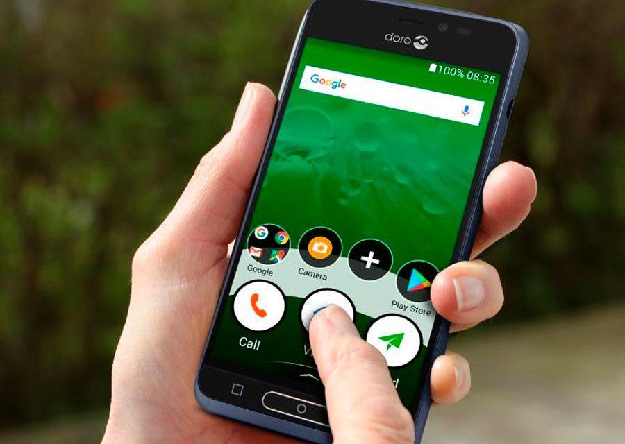 Doro 8035 y 7060, móviles para personas mayores