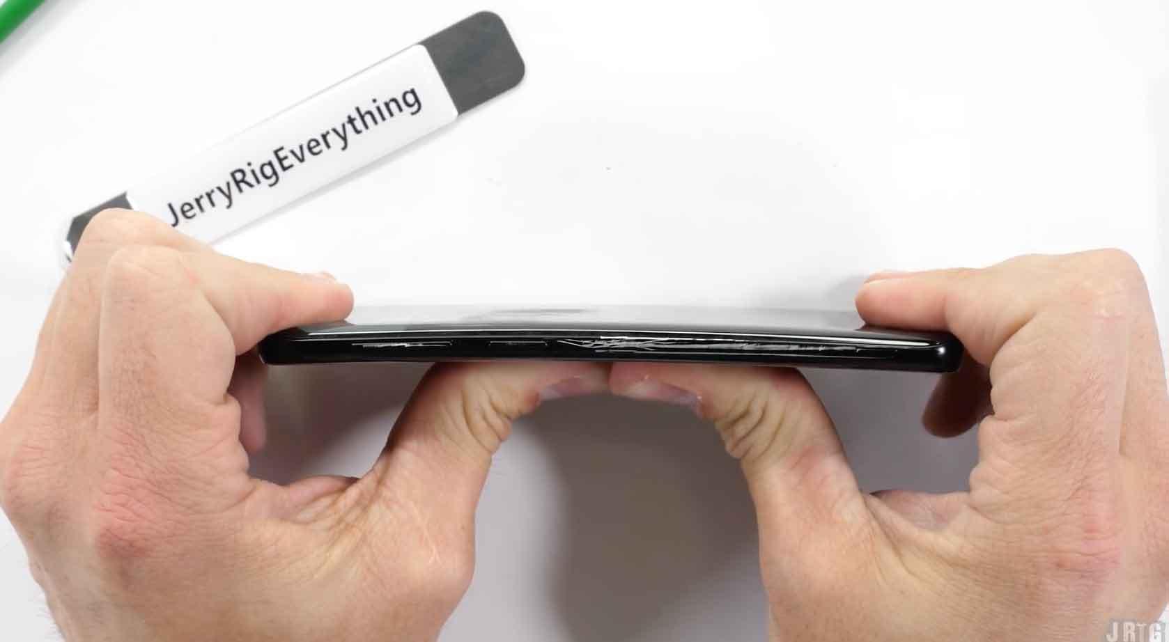 Galaxy S9 doblado