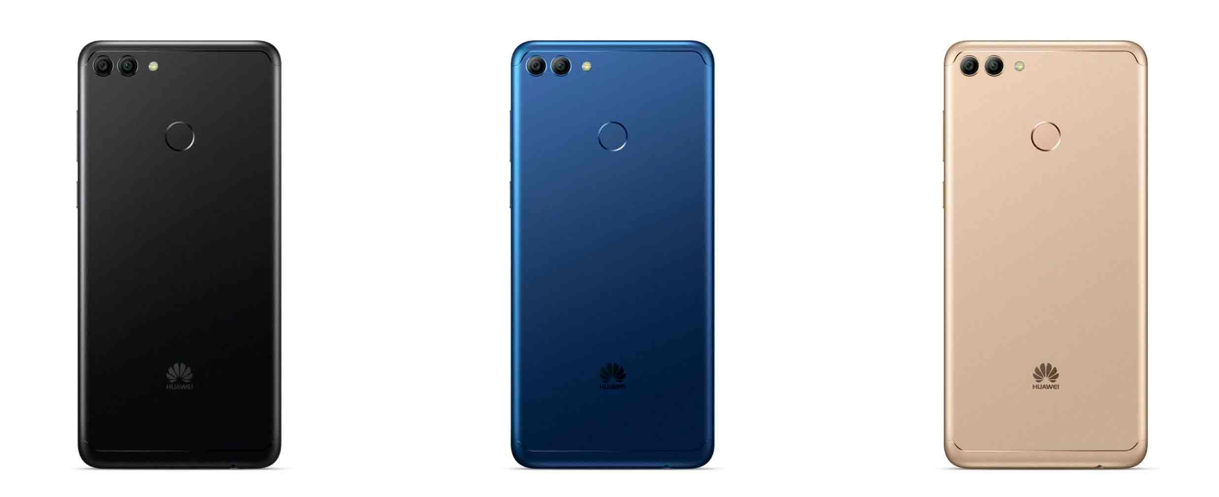 Huawei Y9 2018, filtradas imágenes de prensa y especificaciones