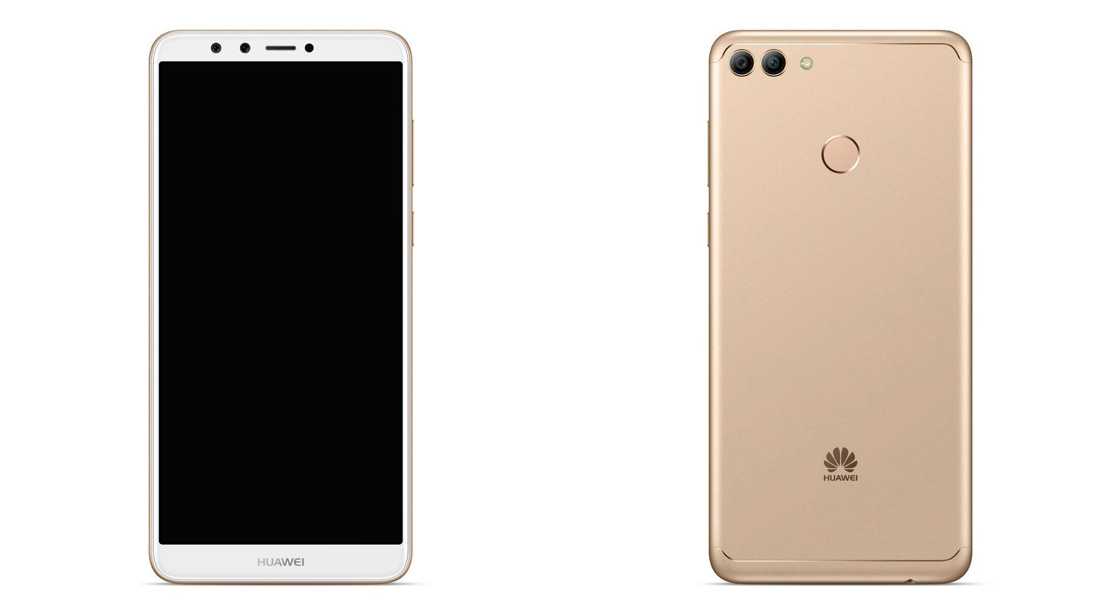 Se filtran imágenes de prensa del Huawei Y9 2018