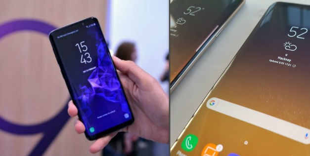 Comparativa Samsung Galaxy S9 vs Samsung Galaxy S8