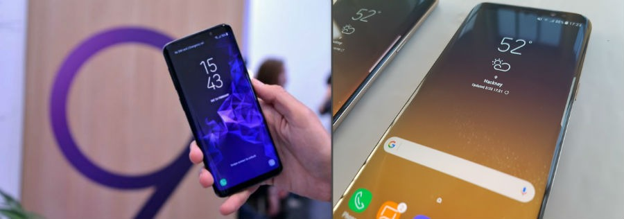 Comparativa Samsung Galaxy S9 vs Samsung Galaxy S8