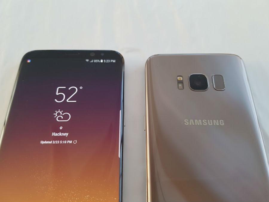 Samsung Galaxy S8 diseño
