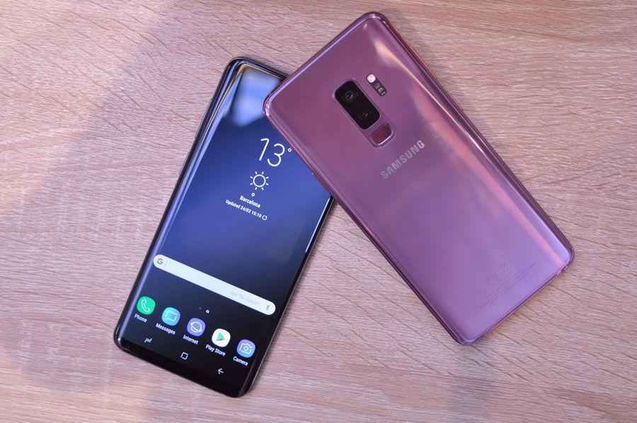 Los Samsung Galaxy S9 y S9+ reciben la primera actualización de seguridad