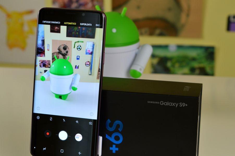 Samsung Galaxy S9 con caja