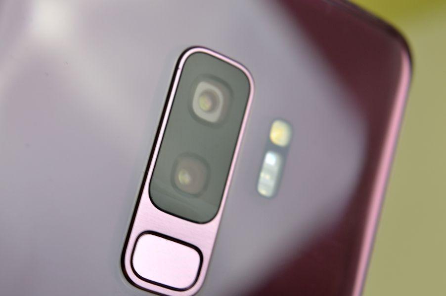 Samsung Galaxy S9+ camara