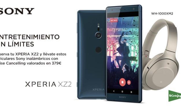 Sony regala unos auriculares valorados en 380 euros por la compra de un Xperia XZ2
