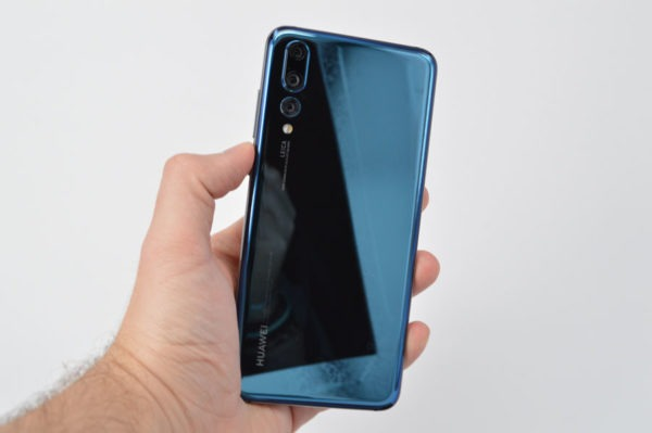 comparativa Huawei P20 Pro o Samsung Galaxy S9+ trasera P20 Pro