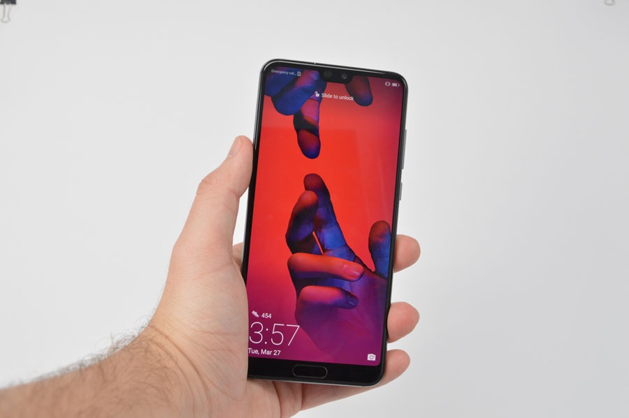 comparativa Huawei P20 Pro o Samsung Galaxy S9+ pantalla P20 Pro